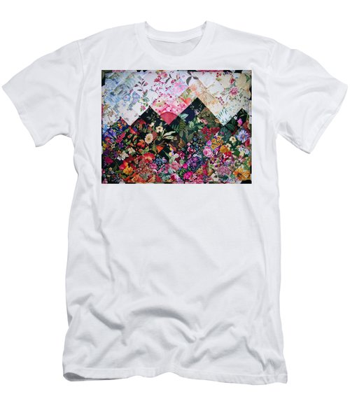 Watercolor Sunset Men's T-Shirt (Athletic Fit)