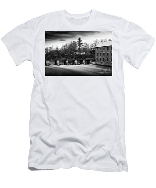 Men's T-Shirt (Athletic Fit) featuring the photograph Watson's Mill by Miles Whittingham