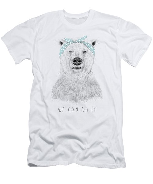 We Can Do It Men's T-Shirt (Athletic Fit)