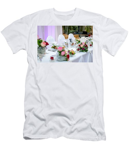 Wedding Table Men's T-Shirt (Athletic Fit)