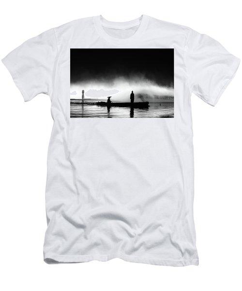 West Lake Men's T-Shirt (Athletic Fit)