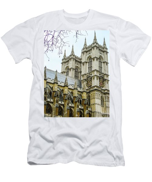 Westminster Abbey Men's T-Shirt (Athletic Fit)
