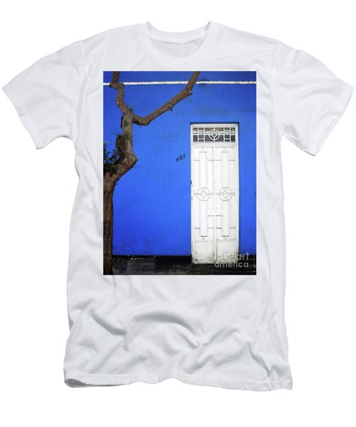 Men's T-Shirt (Athletic Fit) featuring the photograph When A Tree Comes Knocking by Rick Locke