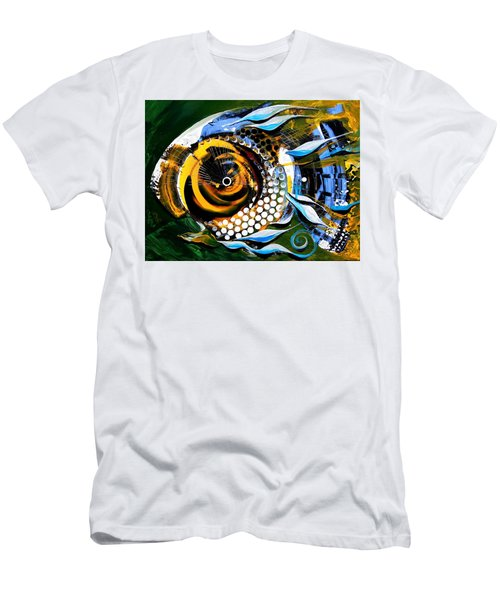 White-headed Mouth Fish Men's T-Shirt (Athletic Fit)