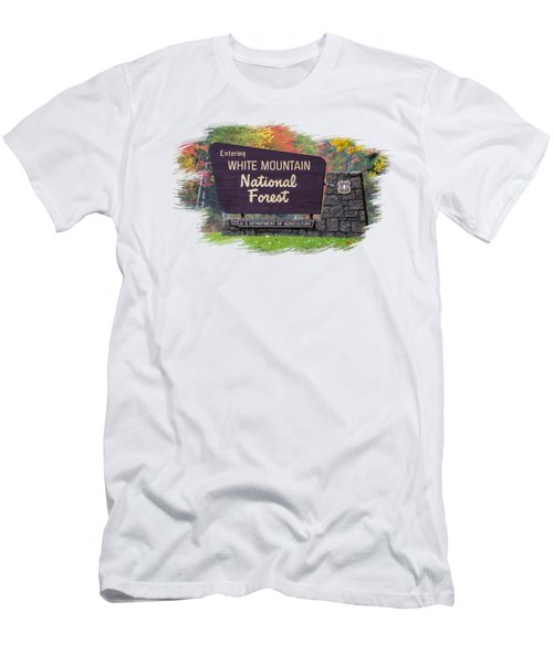 White Mountain National Forest Transparency Men's T-Shirt (Athletic Fit)