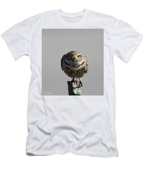 Whooo Are You Men's T-Shirt (Athletic Fit)
