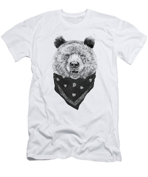 Wild Bear Men's T-Shirt (Athletic Fit)