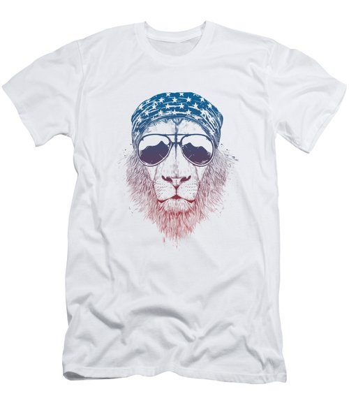 Wild Lion II Men's T-Shirt (Athletic Fit)