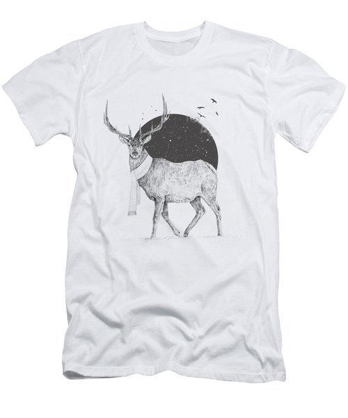Winter Is All Around Men's T-Shirt (Athletic Fit)