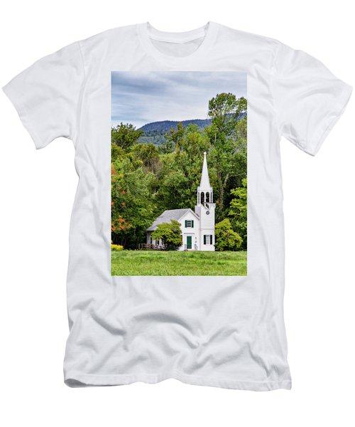 Wonalancet Union Chapel Men's T-Shirt (Athletic Fit)