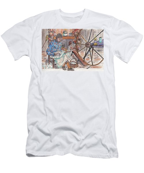 Working Cotton The Old Fashioned Way Men's T-Shirt (Athletic Fit)