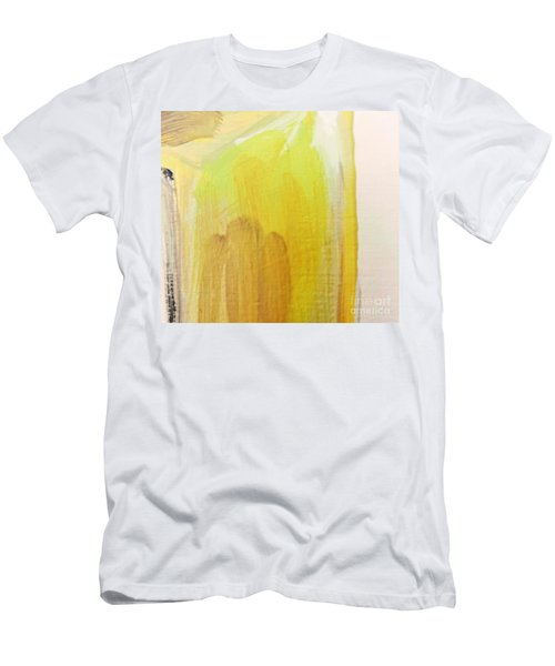 Yellow #3 Men's T-Shirt (Athletic Fit)