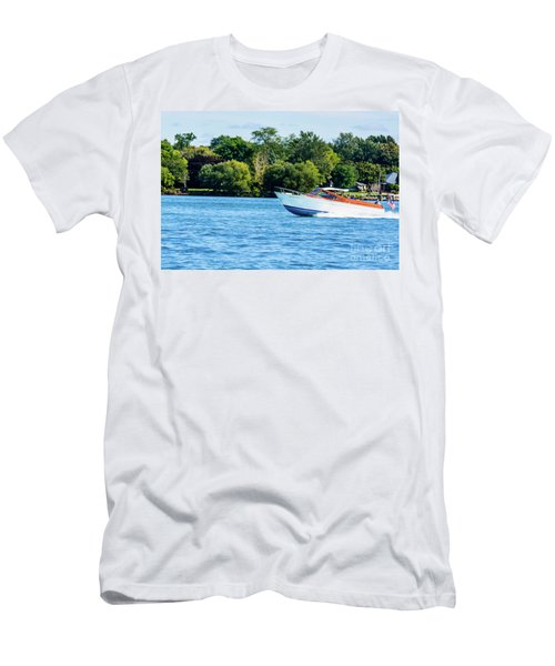 Yes Its A Chris Craft Men's T-Shirt (Athletic Fit)