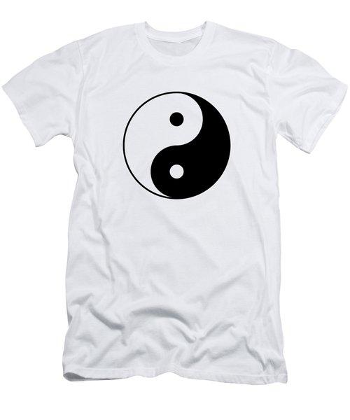 Yin And Yang Men's T-Shirt (Athletic Fit)