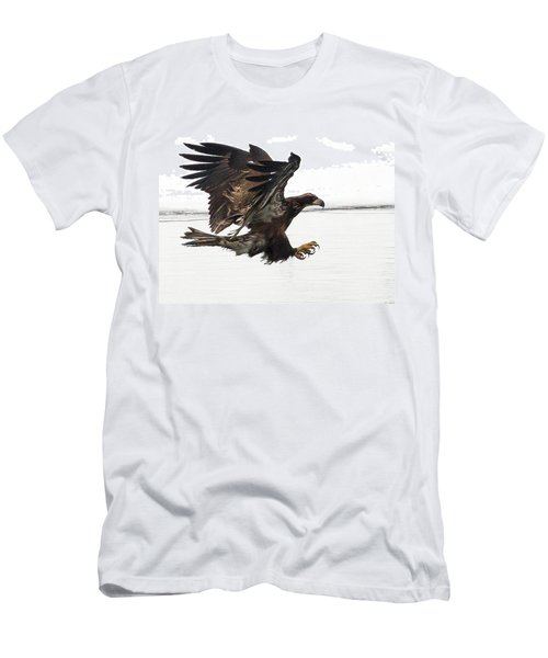 Young Bald Eagle Men's T-Shirt (Athletic Fit)