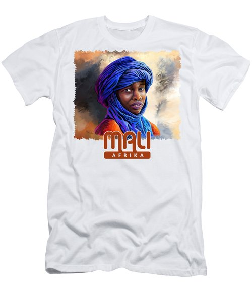 Young Boy From Mali Men's T-Shirt (Athletic Fit)