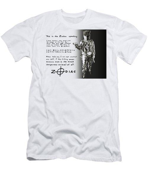 Zodiac Psychopath Killer - T-shirt Men's T-Shirt (Athletic Fit)