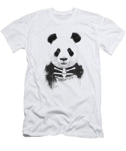 Zombie Panda Men's T-Shirt (Athletic Fit)