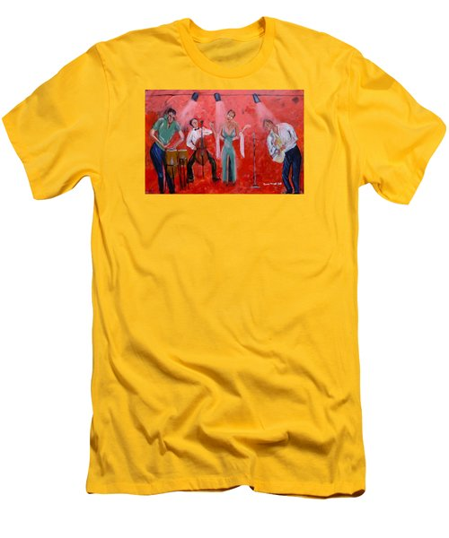 Live Jazz Men's T-Shirt (Athletic Fit)