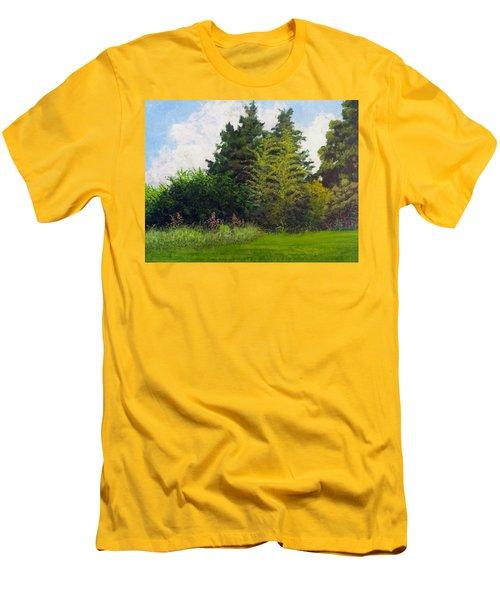 Summer Men's T-Shirt (Slim Fit) by Jeanette Jarmon
