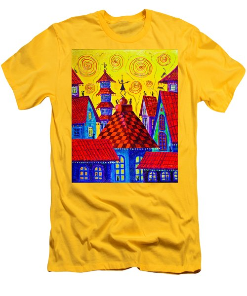 1099 Magic Town 4 - Gilded Men's T-Shirt (Athletic Fit)