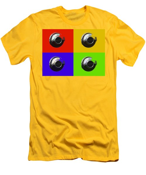 Fuel Cap In Bold Color Men's T-Shirt (Athletic Fit)