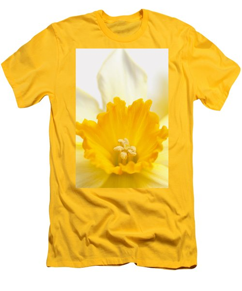 Abstract Daffodil Men's T-Shirt (Athletic Fit)