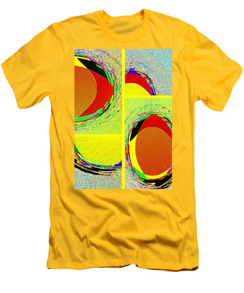 Men's T-Shirt (Athletic Fit) featuring the digital art Abstract Fusion 199 by Will Borden