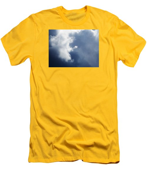 Cloud Angel Kneeling In Prayer Men's T-Shirt (Athletic Fit)