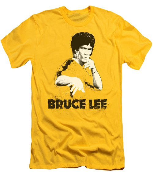 Bruce Lee - Suit Splatter Men's T-Shirt (Athletic Fit)