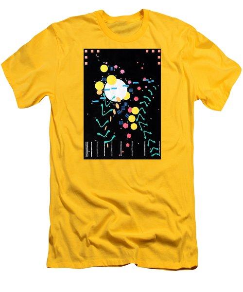Celebration Men's T-Shirt (Slim Fit) by Thomas Gronowski
