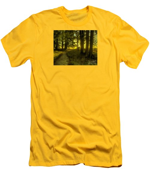 Forest Path Men's T-Shirt (Athletic Fit)