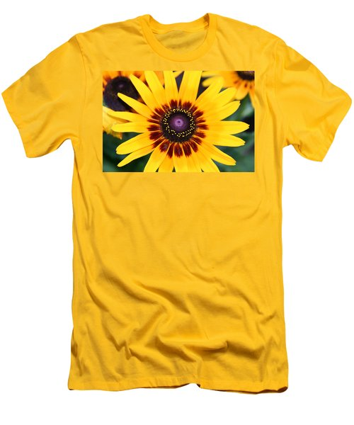 Men's T-Shirt (Slim Fit) featuring the photograph Gloriosa Daisy by Denyse Duhaime