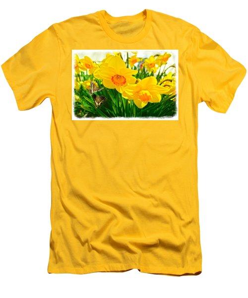 Good Morning Men's T-Shirt (Athletic Fit)