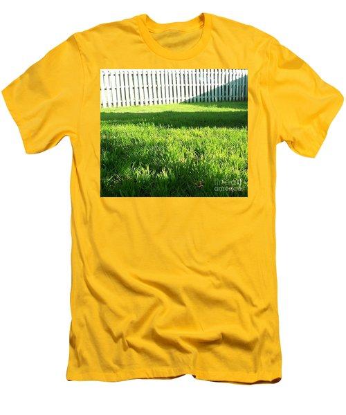 Grass Shadows Men's T-Shirt (Slim Fit) by Susan Williams