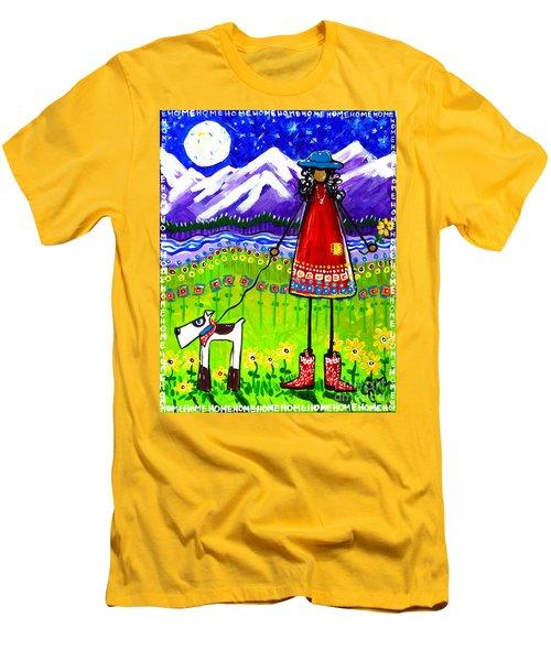 Home Men's T-Shirt (Athletic Fit)