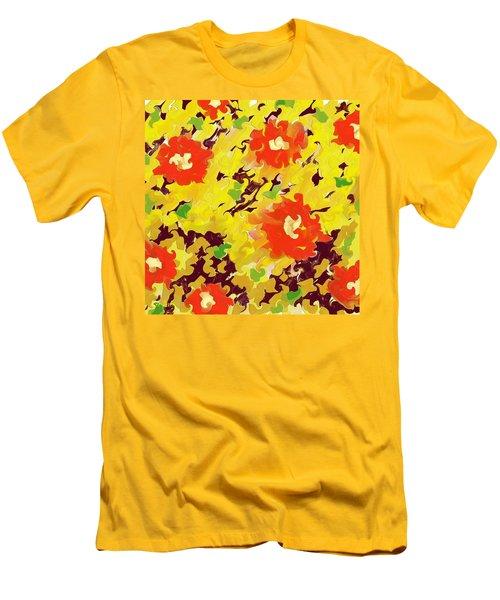 In Full Bloom Men's T-Shirt (Slim Fit) by Alec Drake