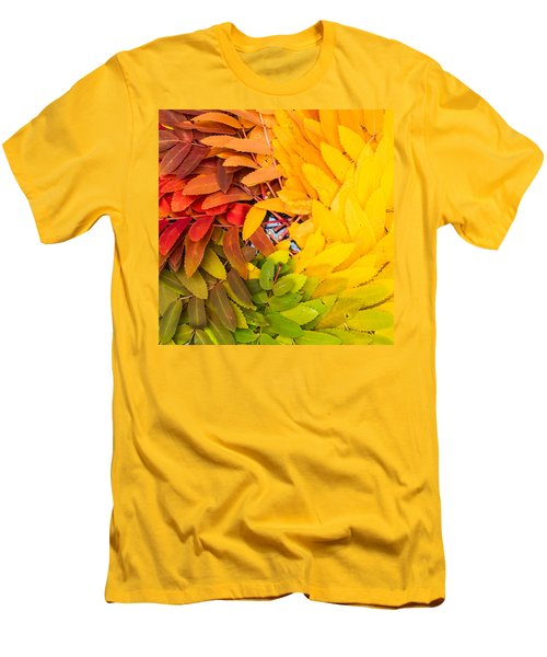 In Living Color Men's T-Shirt (Slim Fit) by Aaron Aldrich