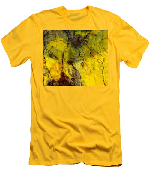 In Yellow  Men's T-Shirt (Slim Fit) by Danica Radman