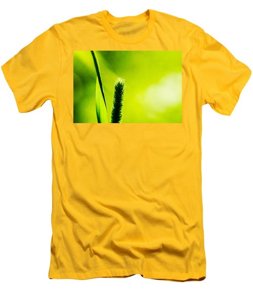 Let World Be Green Men's T-Shirt (Athletic Fit)