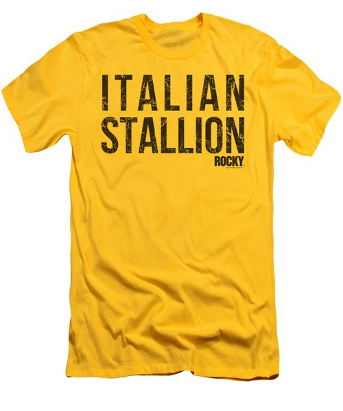 Mgm - Rocky - Italian Stallion Men's T-Shirt (Athletic Fit)