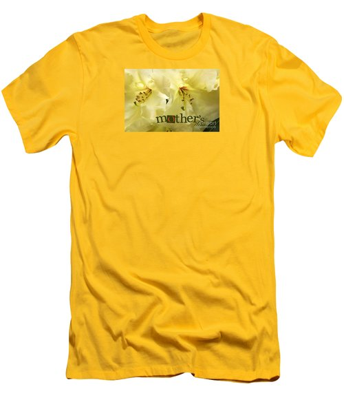 Men's T-Shirt (Slim Fit) featuring the photograph Mothers Day by Jean OKeeffe Macro Abundance Art