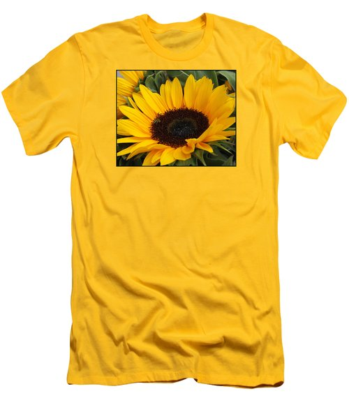 My Sunshine Men's T-Shirt (Slim Fit) by Dora Sofia Caputo Photographic Art and Design