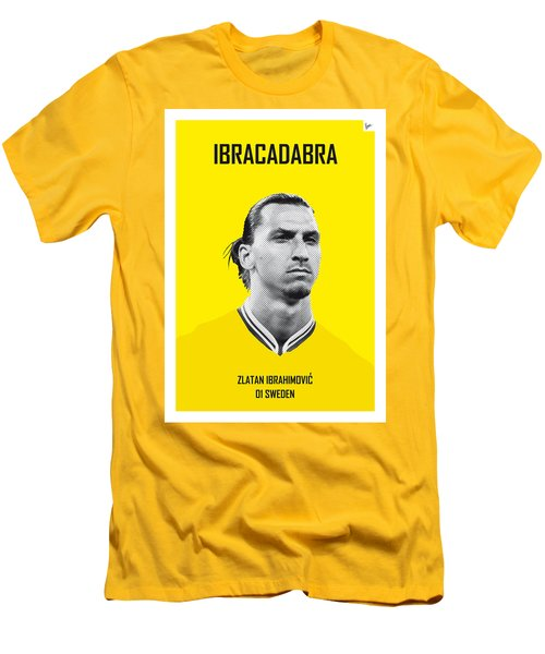 My Zlatan Soccer Legend Poster Men's T-Shirt (Slim Fit) by Chungkong Art