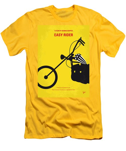 No333 My Easy Rider Minimal Movie Poster Men's T-Shirt (Athletic Fit)