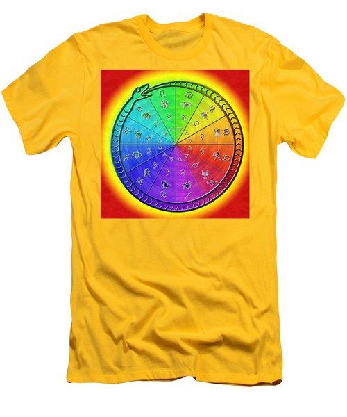 Ouroboros Alchemical Zodiac Men's T-Shirt (Athletic Fit)