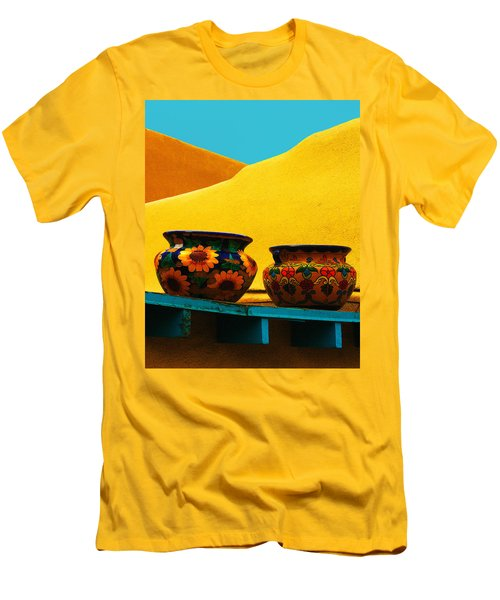 Portrait Of Taos Men's T-Shirt (Athletic Fit)