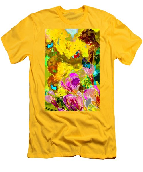 Springtime Splash Men's T-Shirt (Athletic Fit)