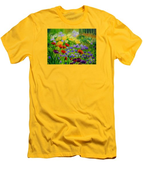 Summer Show Men's T-Shirt (Slim Fit) by Julie Brugh Riffey