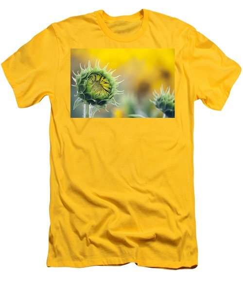 Sunflower Bloom Men's T-Shirt (Slim Fit)